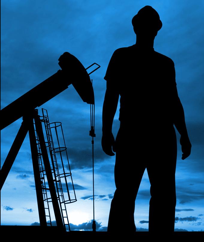 North Dakota Oil Field Worker